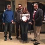 Mini Saxon Shore Winners -  Angela Parker, Neil Coleman & Carson Medhurst