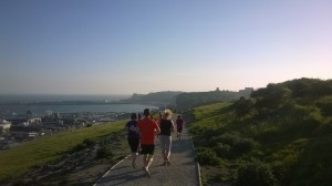 White Cliffs of Dover Lighthouse Run 6