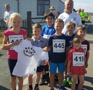 DRR Juniors at Deal Tri's running event - July 2016