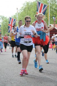 Angela - London Marathon 2017