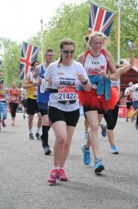 Angela - London Marathon 2017