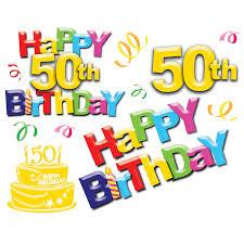 Happy 50th Birthday!!