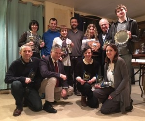 Feb 2016 Awards Evening - All winners