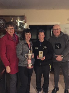 Club Person of the Year - Sylvia Barrett & Phil Coleman